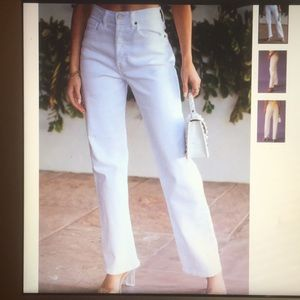 Brand new with tags high rise Dad jean